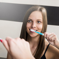 brushing teeth sm